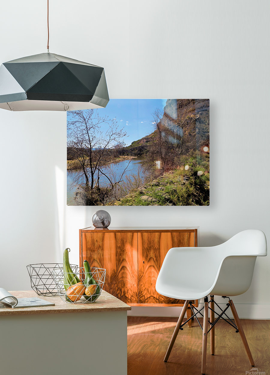 Montezuma's Castle-13  HD Metal print with Floating Frame on Back