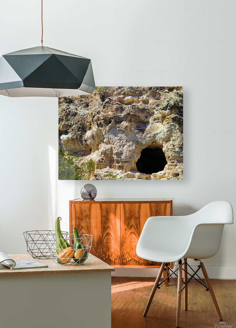 Montezuma's Castle-11  HD Metal print with Floating Frame on Back