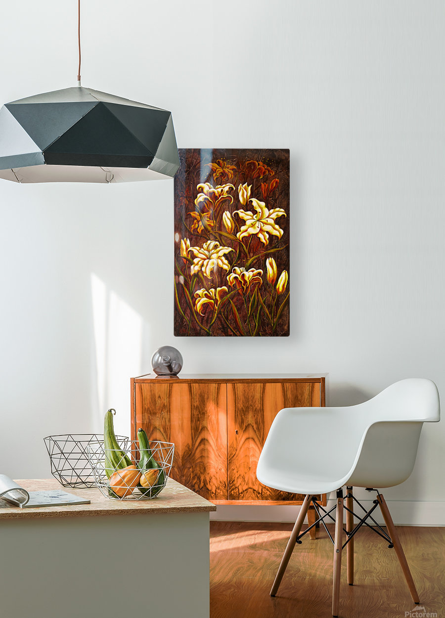 Gone Wild  HD Metal print with Floating Frame on Back