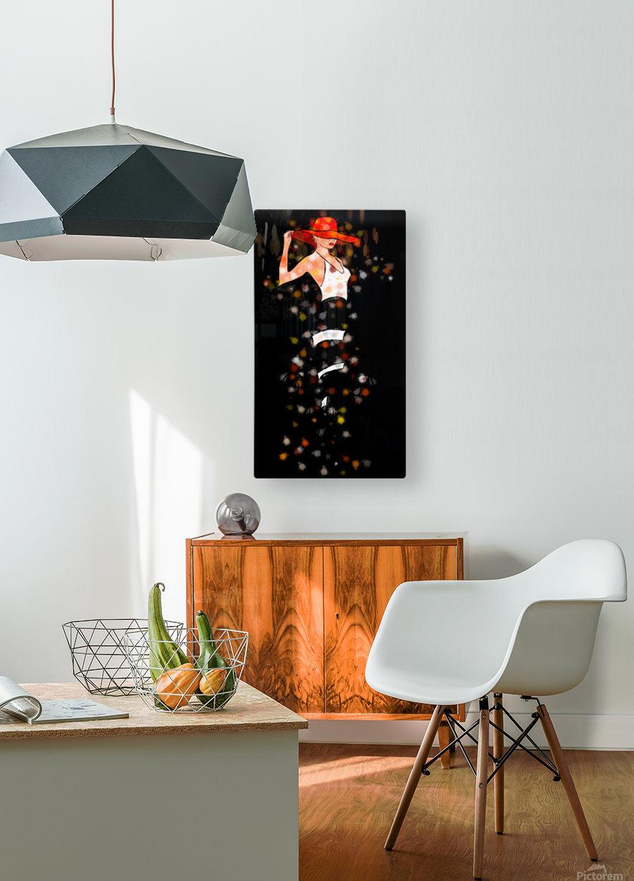 Estranella - summer flower  HD Metal print with Floating Frame on Back