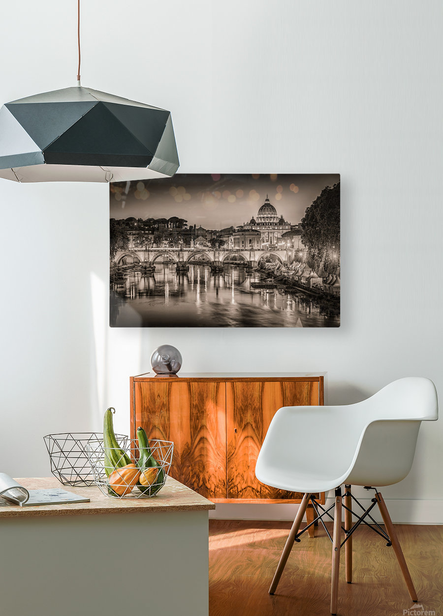 Rome  HD Metal print with Floating Frame on Back
