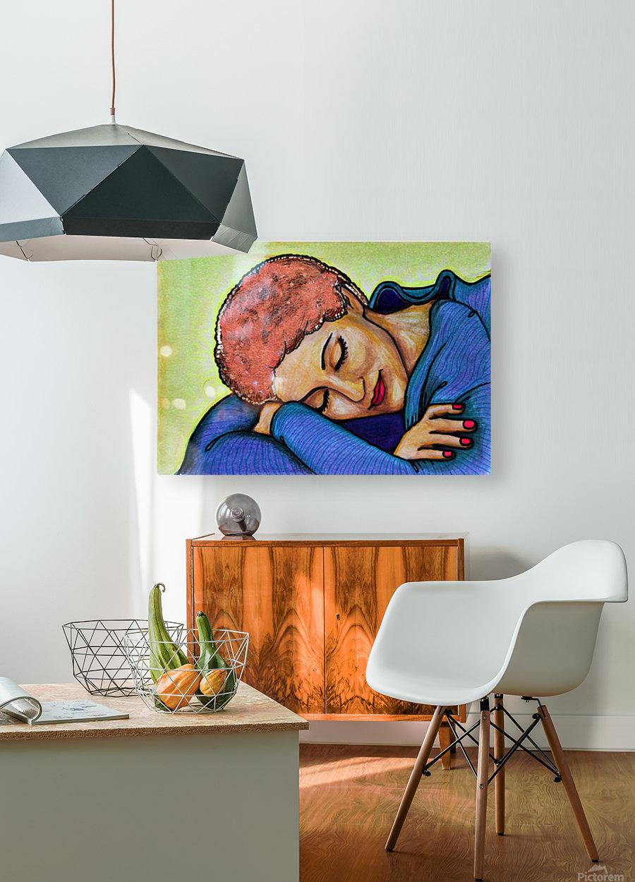 Siesta Ori  HD Metal print with Floating Frame on Back