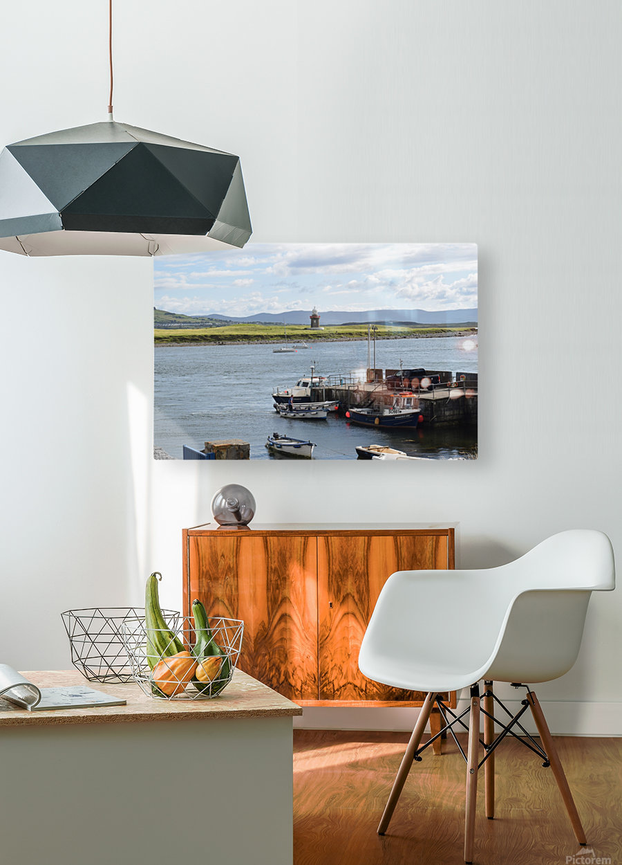 ROSSES POINT, SLIGO  HD Metal print with Floating Frame on Back