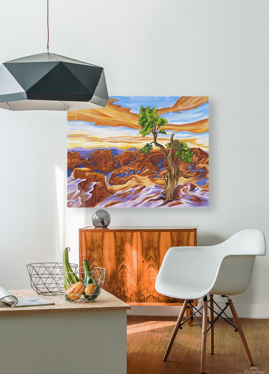 Sedona   HD Metal print with Floating Frame on Back