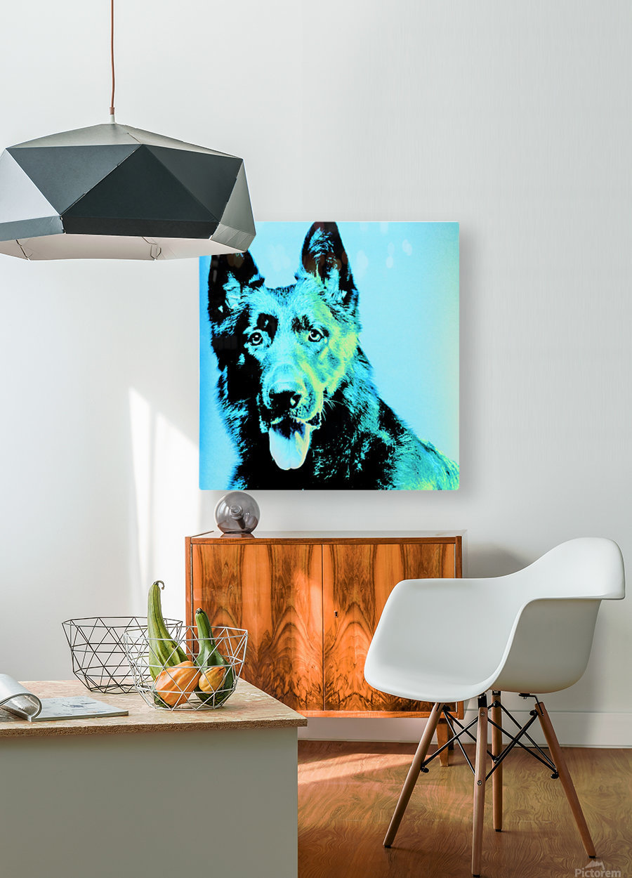 The Wild Moonlight  HD Metal print with Floating Frame on Back
