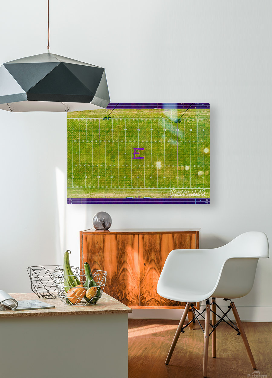 England, AR   Lions Football Field  HD Metal print with Floating Frame on Back