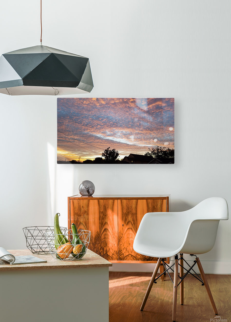 God's Masterpiece  HD Metal print with Floating Frame on Back
