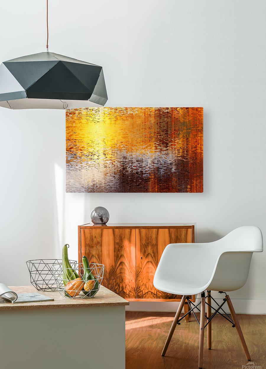 Destination  HD Metal print with Floating Frame on Back