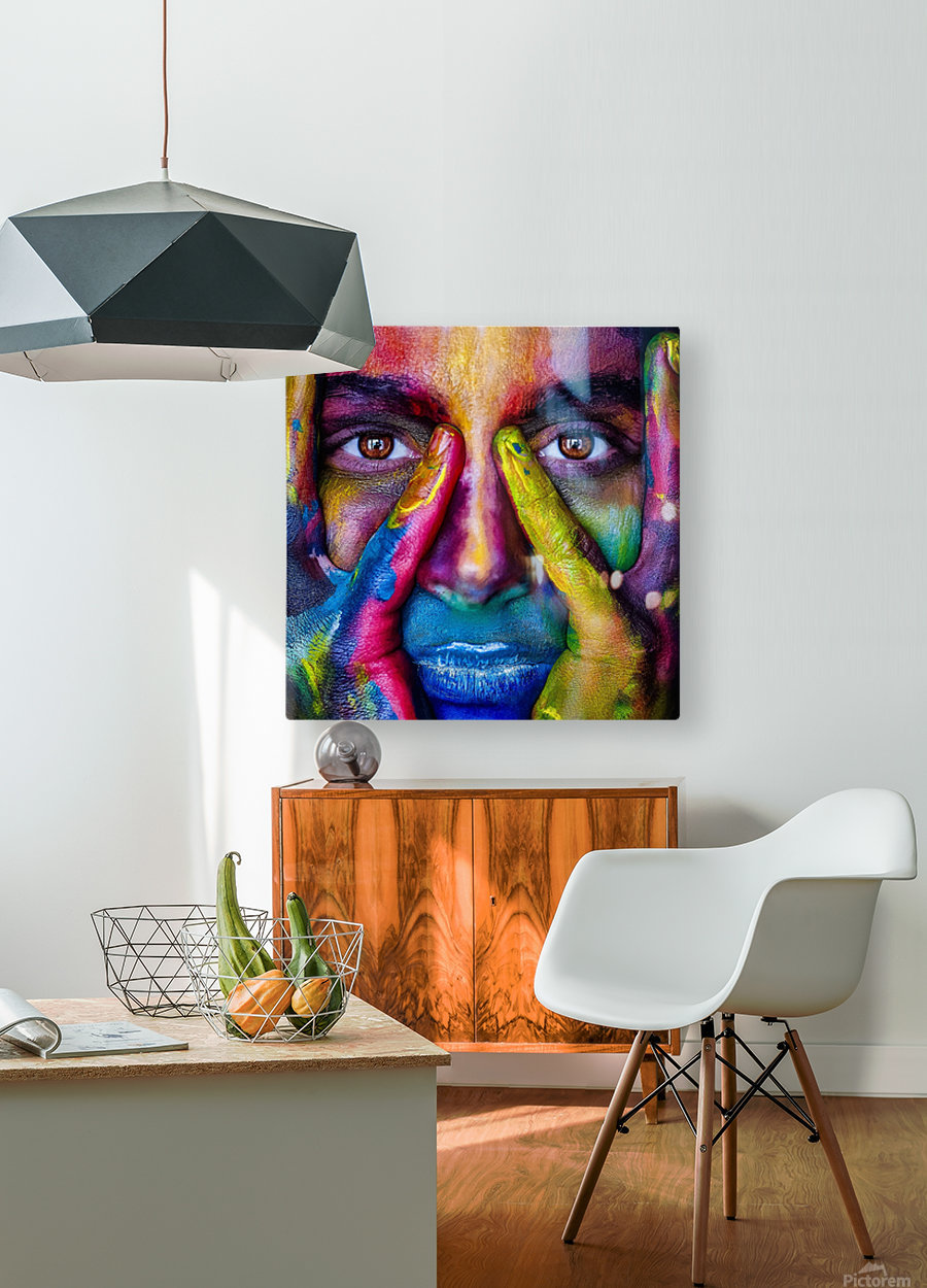 mejk  HD Metal print with Floating Frame on Back