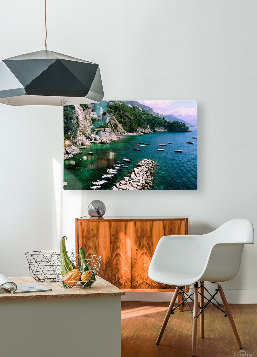 Conca de Marini Beach -   HD Metal print with Floating Frame on Back