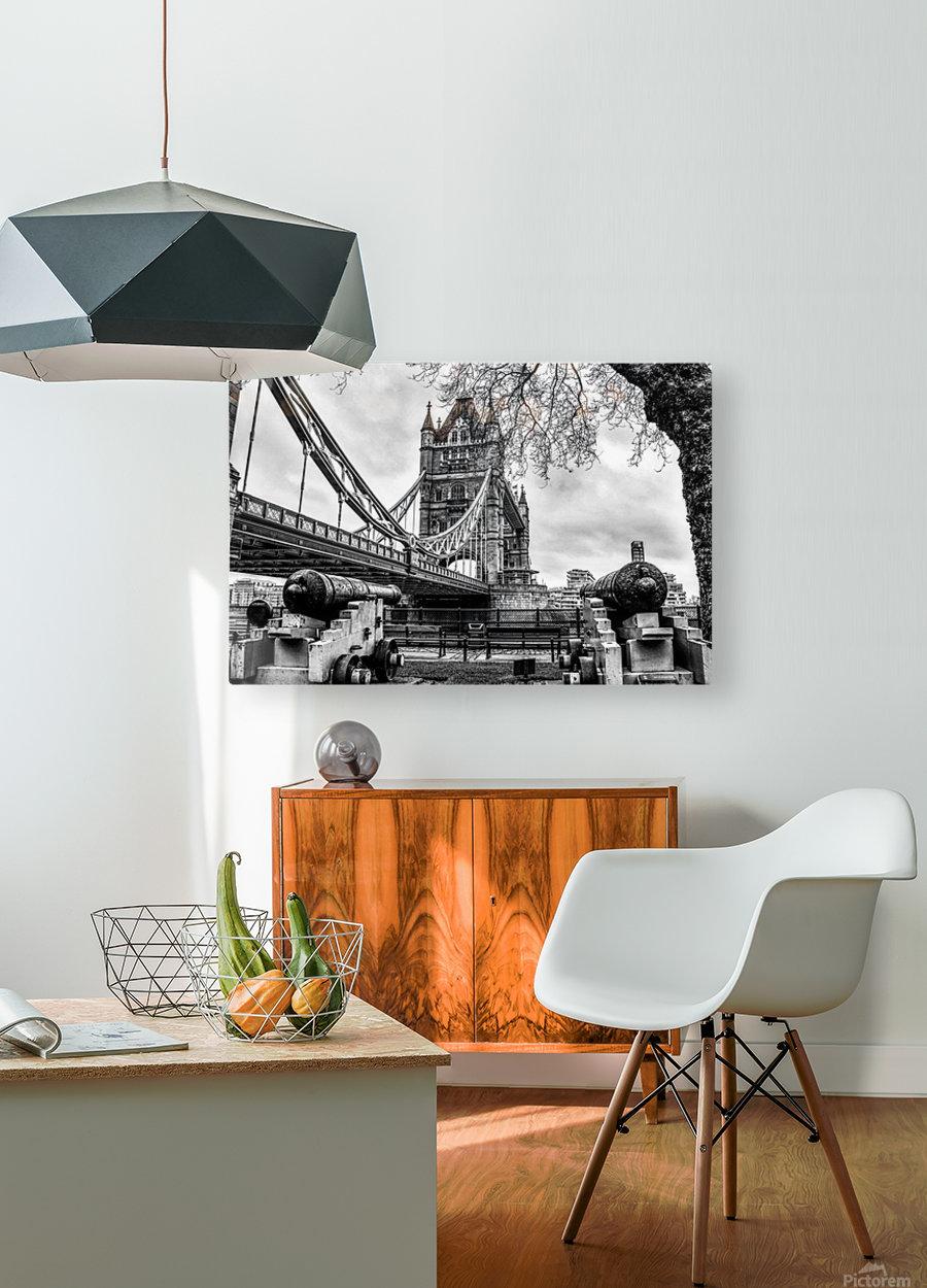 London Tower Bridge  HD Metal print with Floating Frame on Back