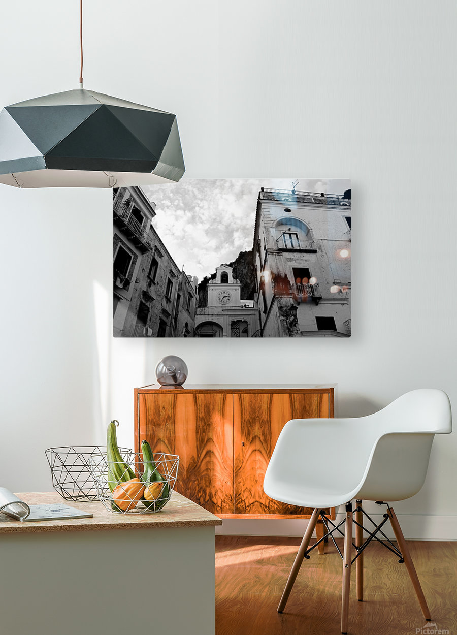 Atrani Village - Italy  HD Metal print with Floating Frame on Back