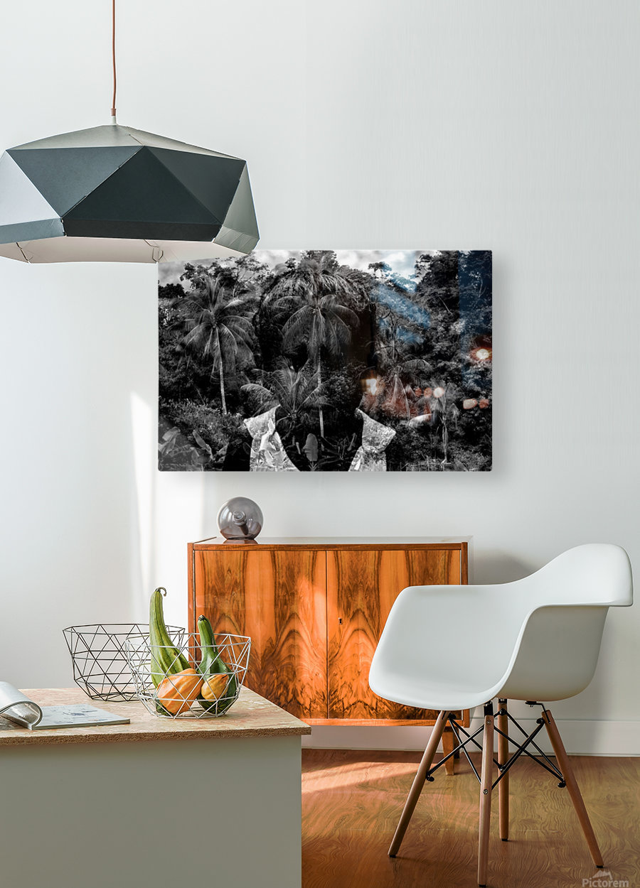 Guyana Child of the jungle   HD Metal print with Floating Frame on Back