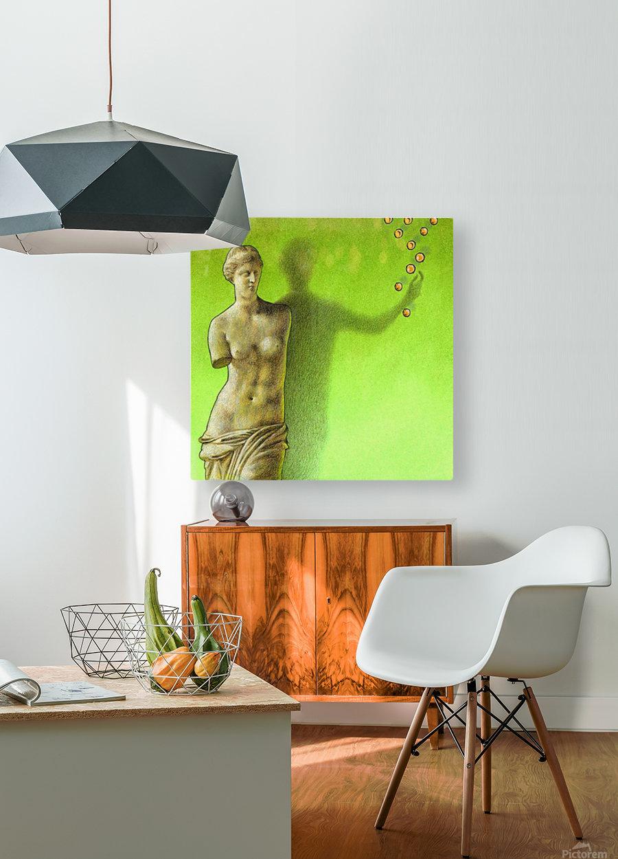Grece  HD Metal print with Floating Frame on Back