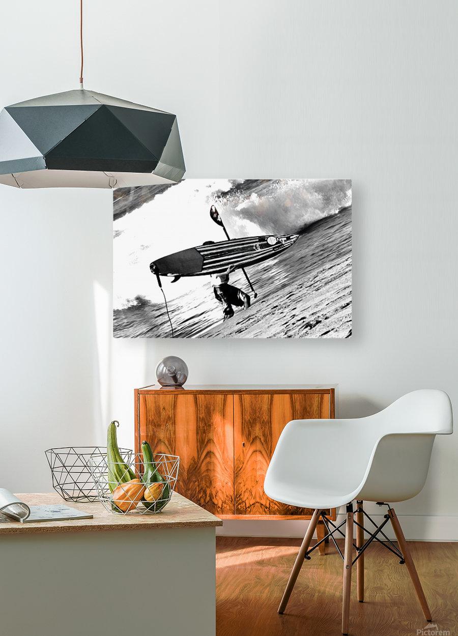 Makaha Hawaii  HD Metal print with Floating Frame on Back