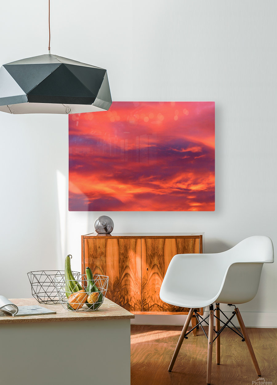 Still waters run deep 1  HD Metal print with Floating Frame on Back