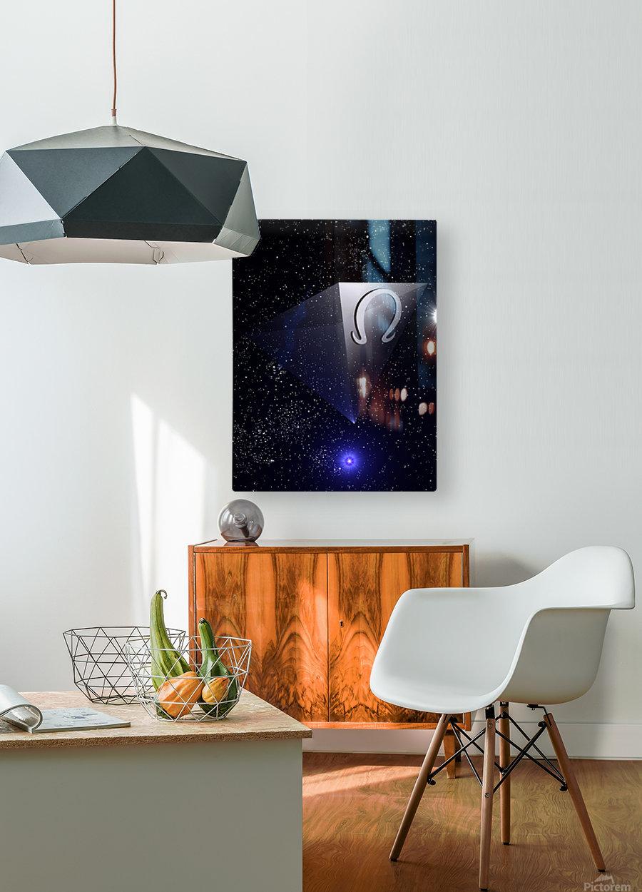 Ascension  HD Metal print with Floating Frame on Back