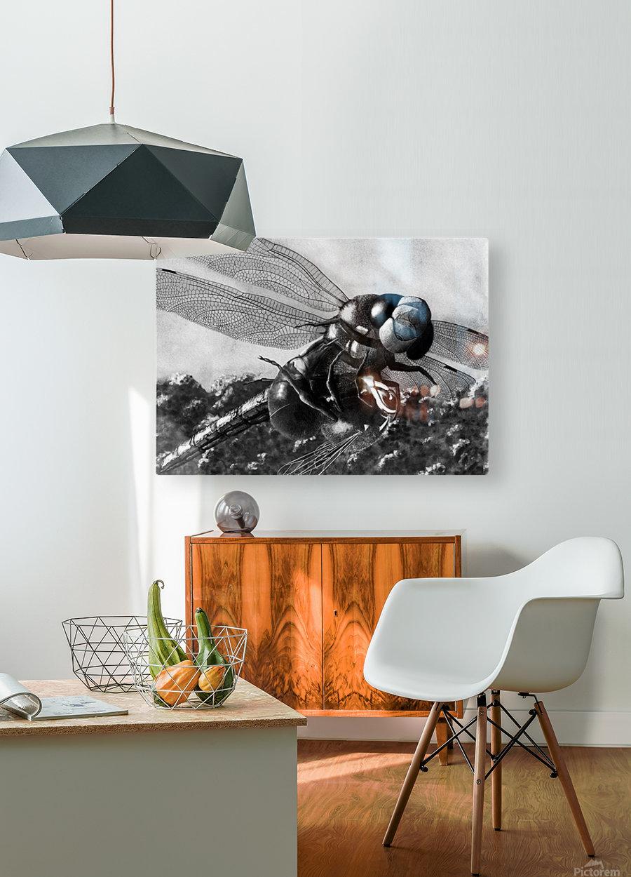 Dance Until Death  HD Metal print with Floating Frame on Back