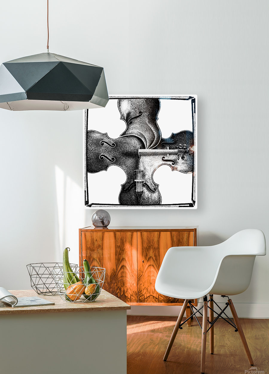 Discord  HD Metal print with Floating Frame on Back