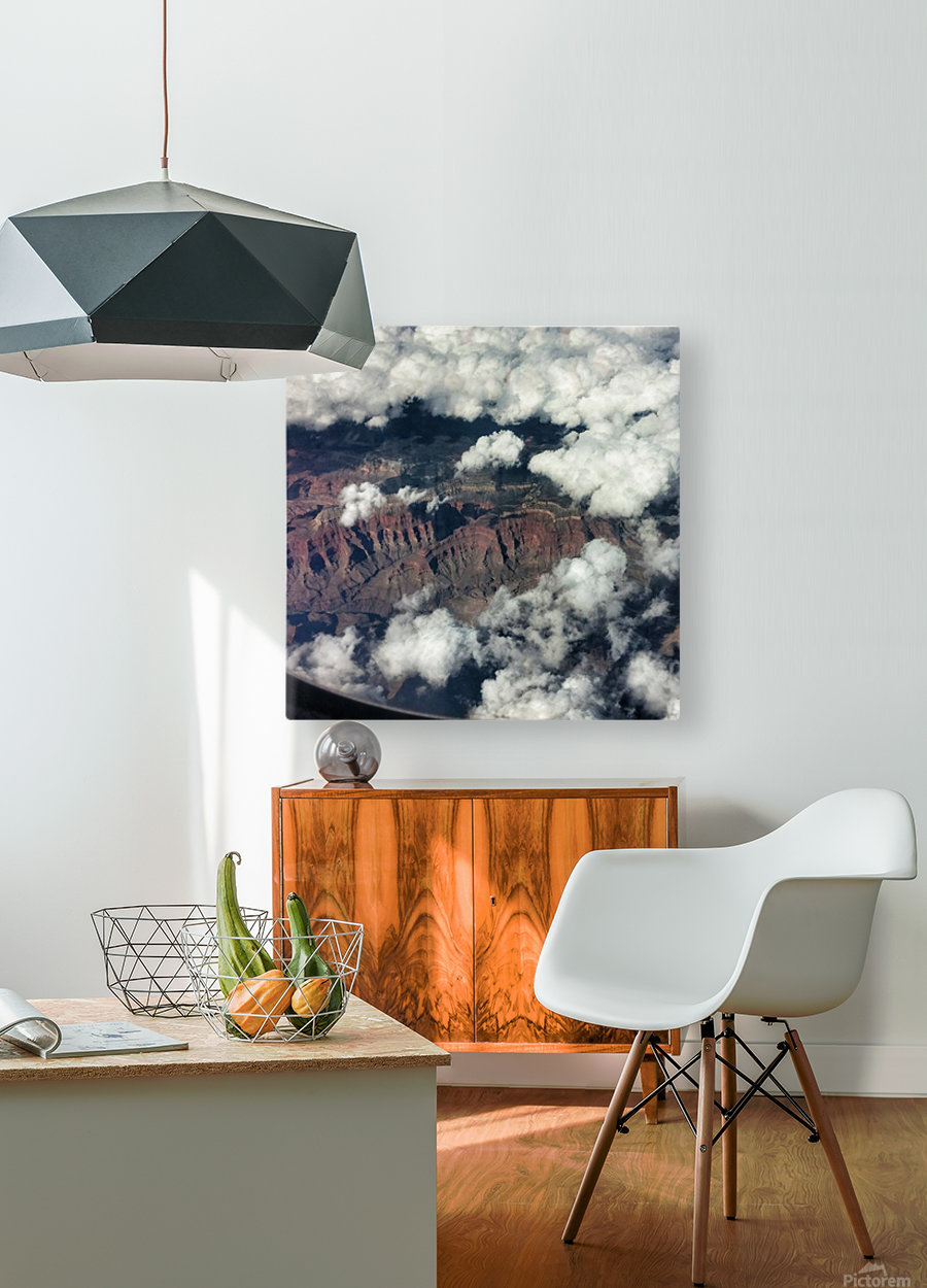 Arizona Canyons  HD Metal print with Floating Frame on Back