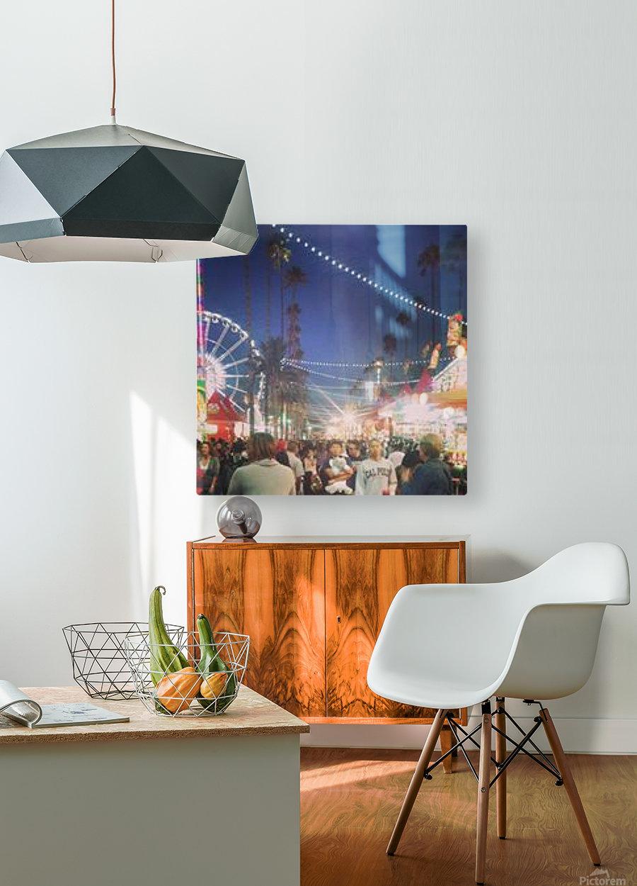 Pomona Fair, California  HD Metal print with Floating Frame on Back