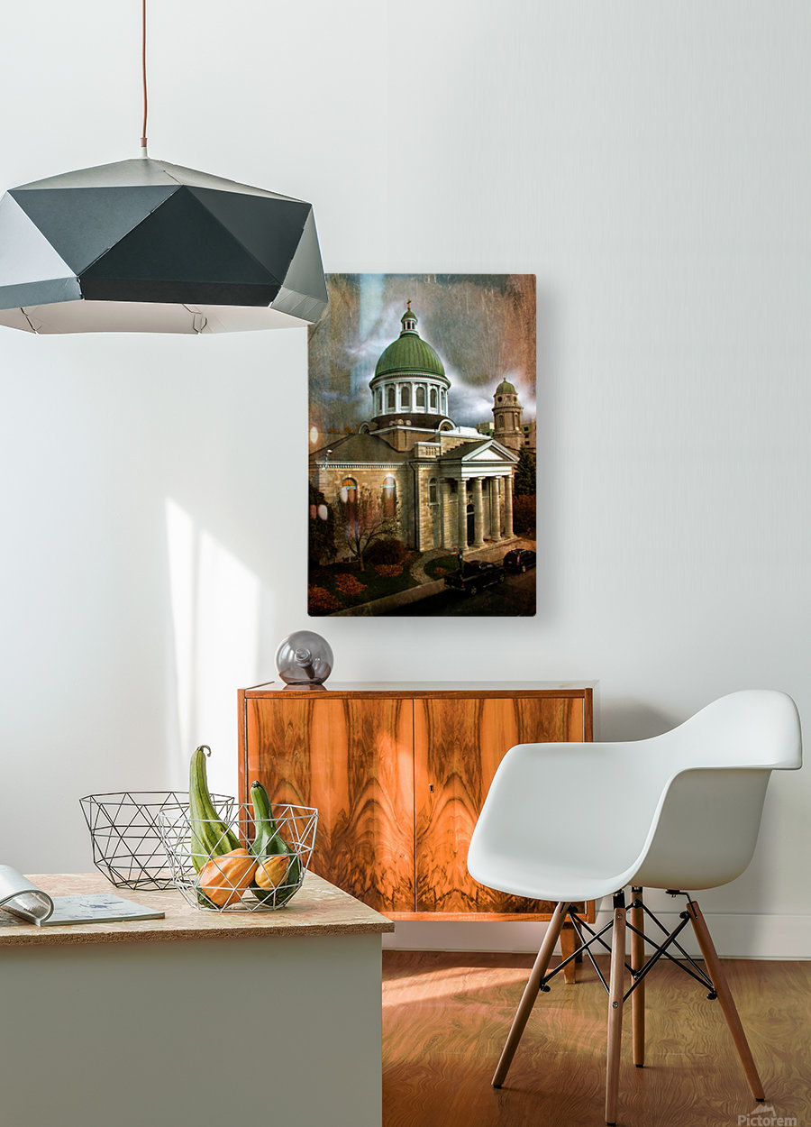 St Georges Cathedral  HD Metal print with Floating Frame on Back