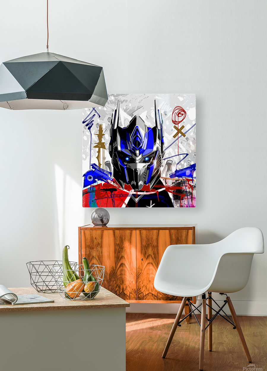 Prime X  HD Metal print with Floating Frame on Back