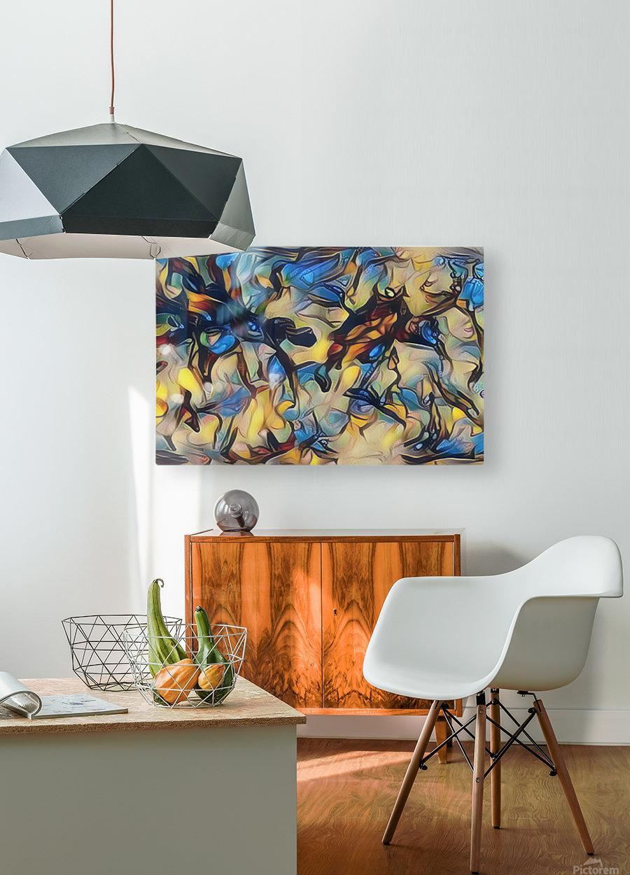 gubug  HD Metal print with Floating Frame on Back