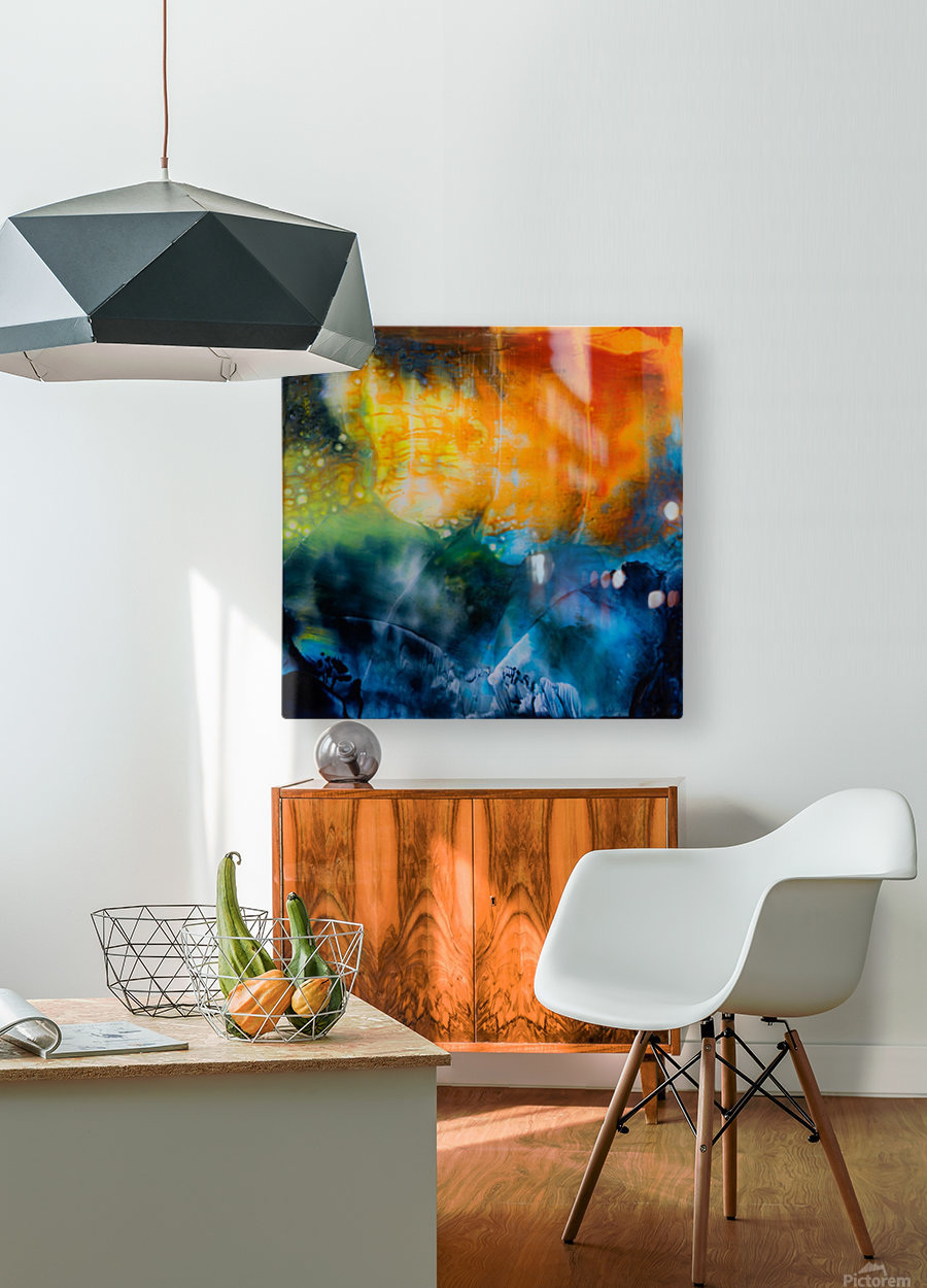 Expansion  HD Metal print with Floating Frame on Back