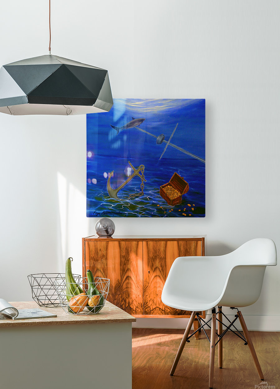 Lost Treasure  HD Metal print with Floating Frame on Back
