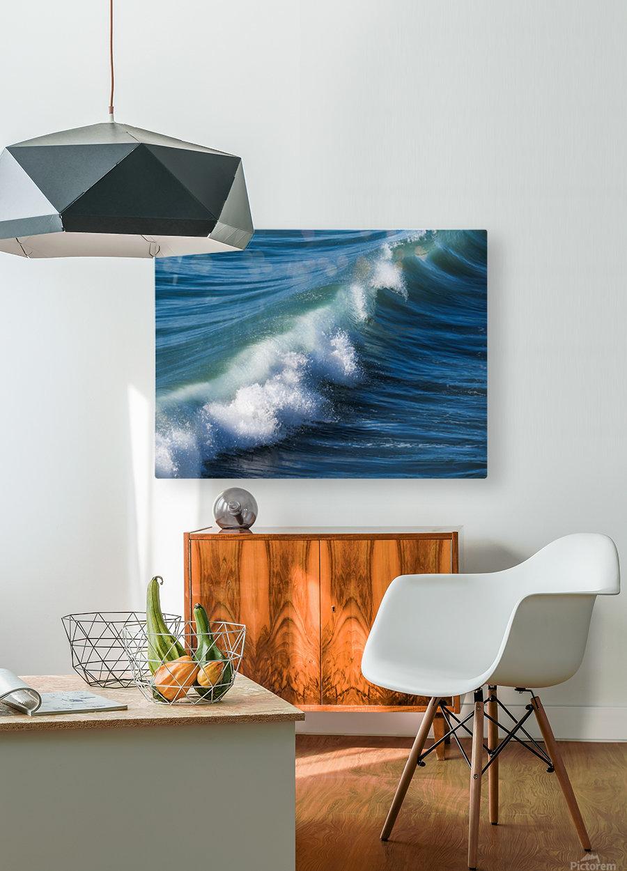 Wave of Changes - Vague de Changements  HD Metal print with Floating Frame on Back