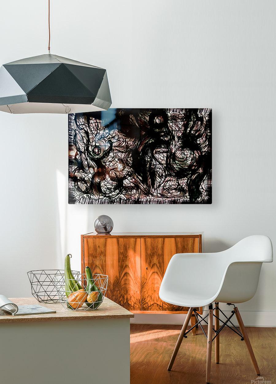 nowerind  HD Metal print with Floating Frame on Back
