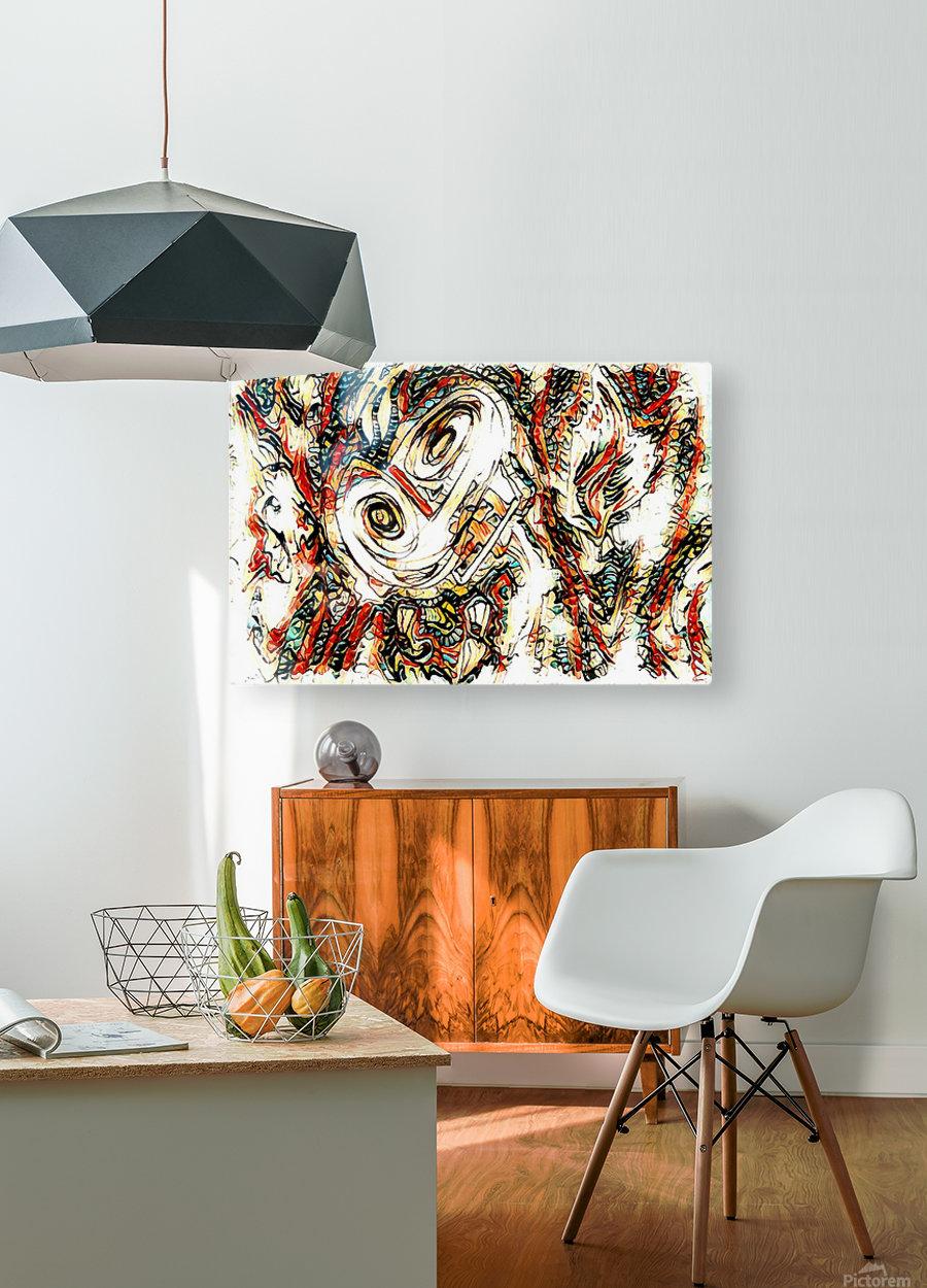 vafle  HD Metal print with Floating Frame on Back