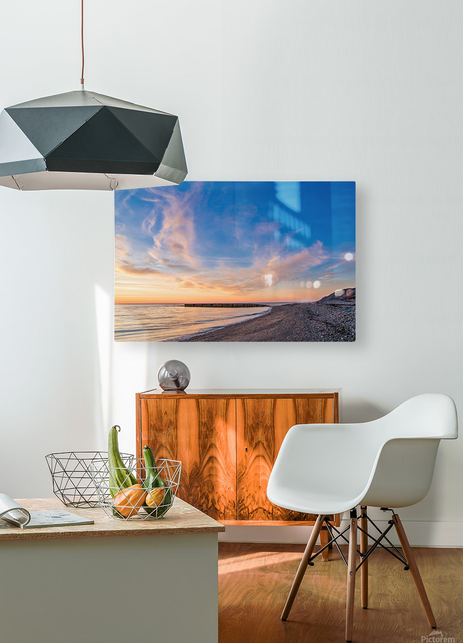 The Magic of la Bloc  HD Metal print with Floating Frame on Back