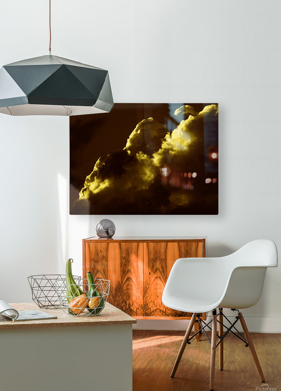 A (5)  HD Metal print with Floating Frame on Back