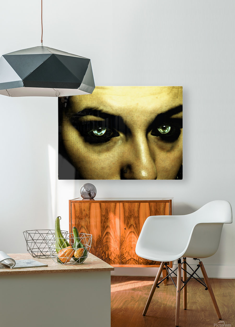 A (1)  HD Metal print with Floating Frame on Back