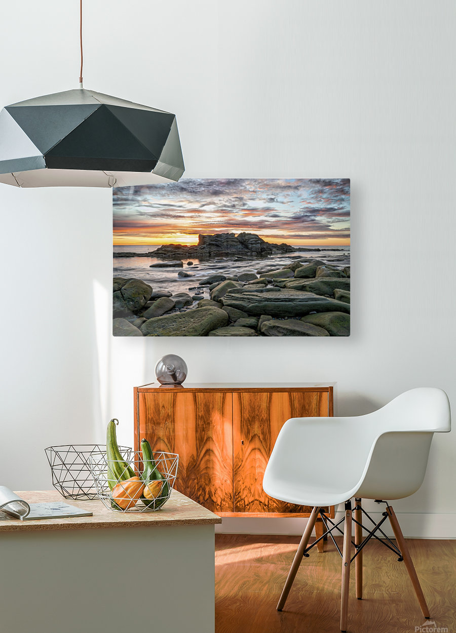 The Big Rock  HD Metal print with Floating Frame on Back