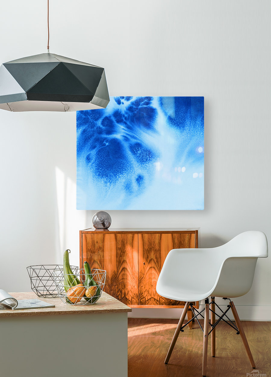 Afternoon Clouds  HD Metal print with Floating Frame on Back