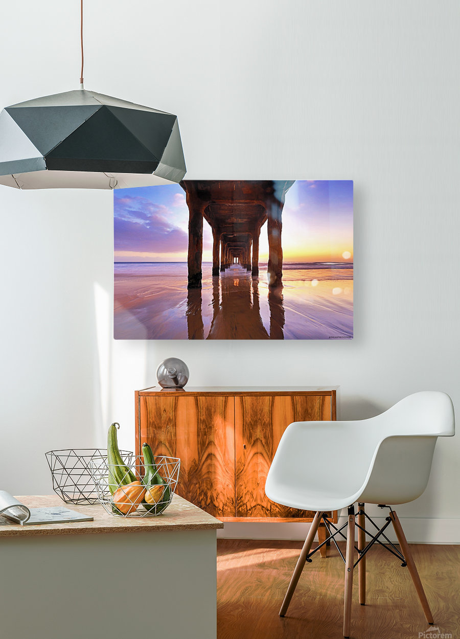 stronger than ever  HD Metal print with Floating Frame on Back