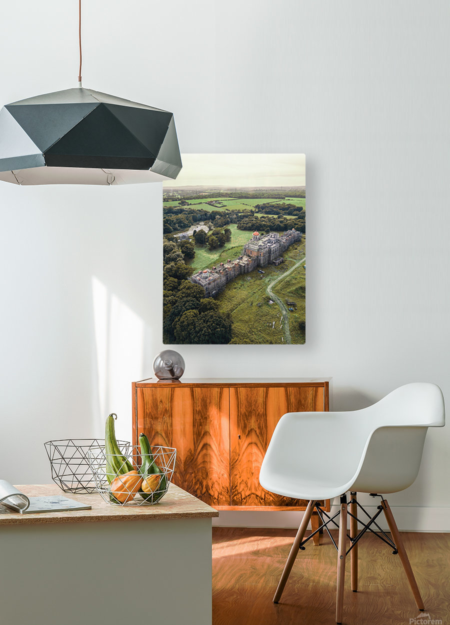 The Devils Palace   HD Metal print with Floating Frame on Back