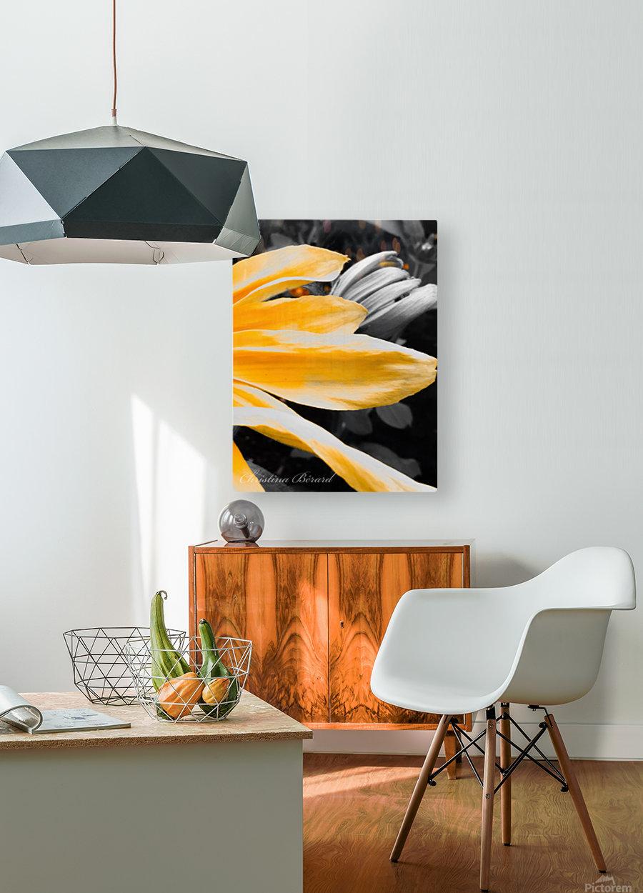 Golden child  Impression métal HD avec cadre flottant sur le dos