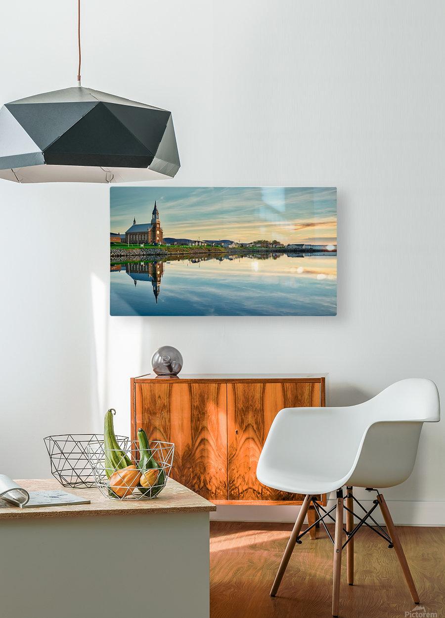 Destiny  HD Metal print with Floating Frame on Back