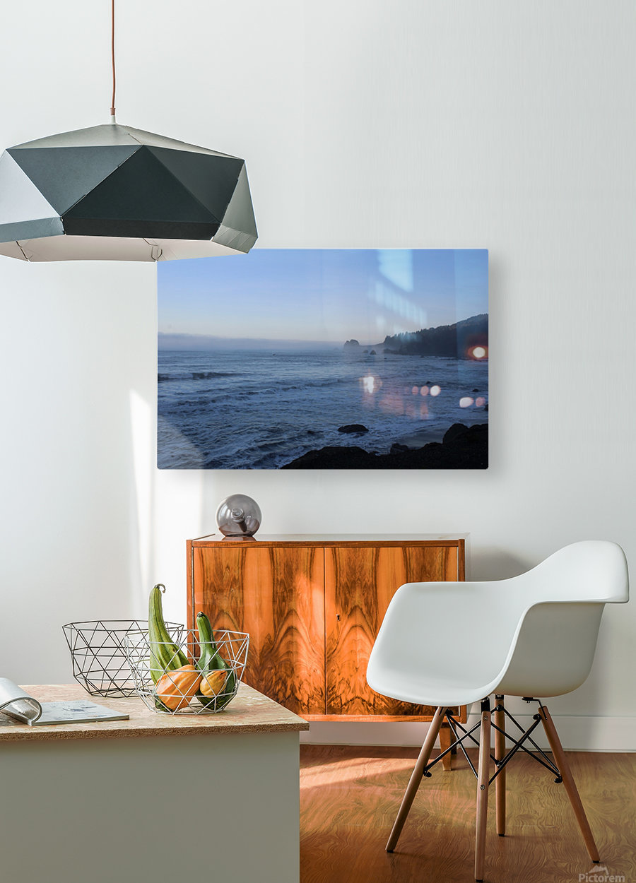 Rocky Point  HD Metal print with Floating Frame on Back