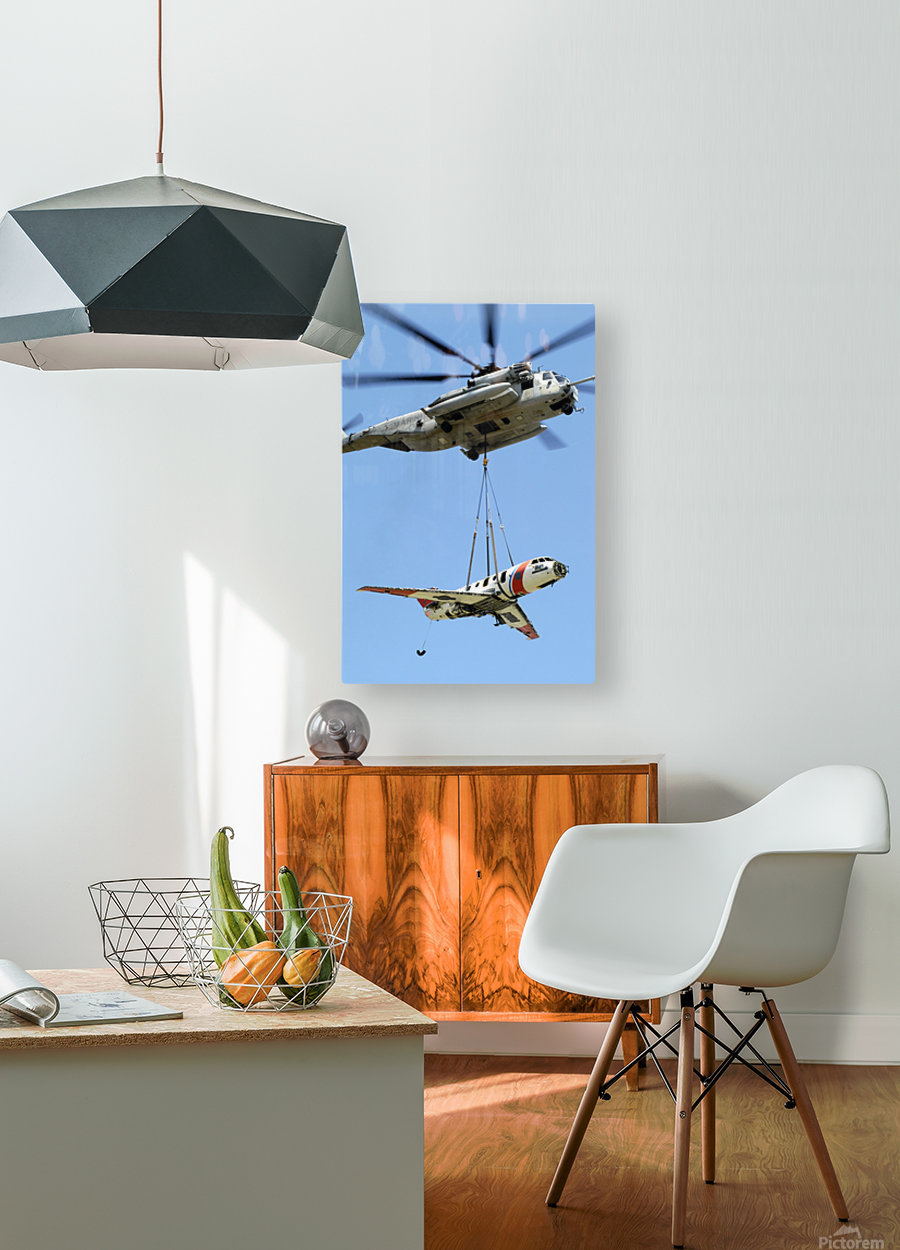 stk101872m  HD Metal print with Floating Frame on Back