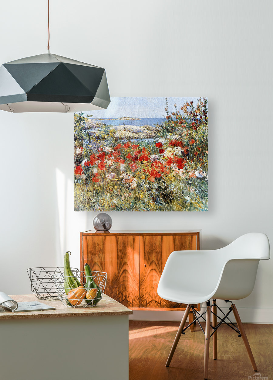 Flower Garden, Isles of Shoals  HD Metal print with Floating Frame on Back