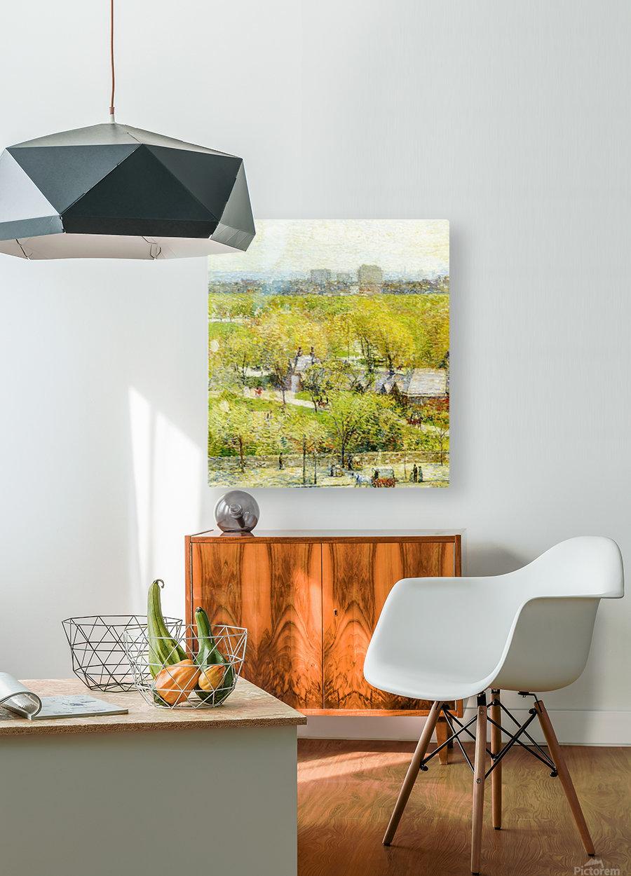 Woodland Pond  HD Metal print with Floating Frame on Back