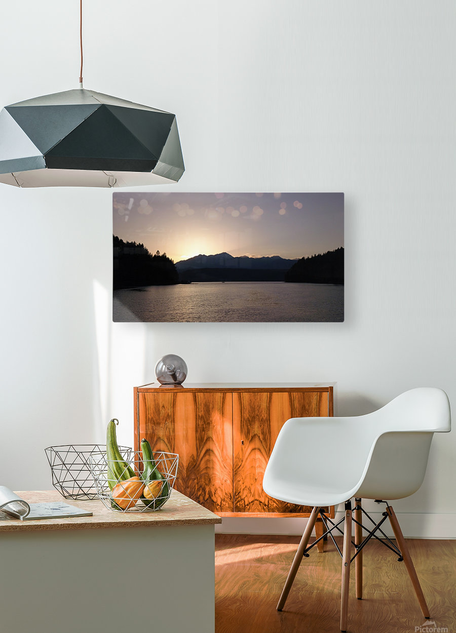 Olympics Set  HD Metal print with Floating Frame on Back