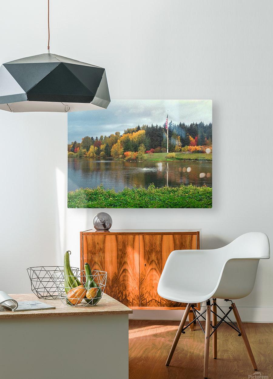 Weyerhaeuser HQ last View  HD Metal print with Floating Frame on Back