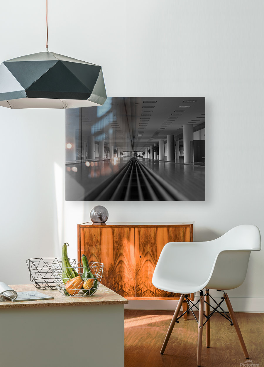 Weyer 4th N  HD Metal print with Floating Frame on Back