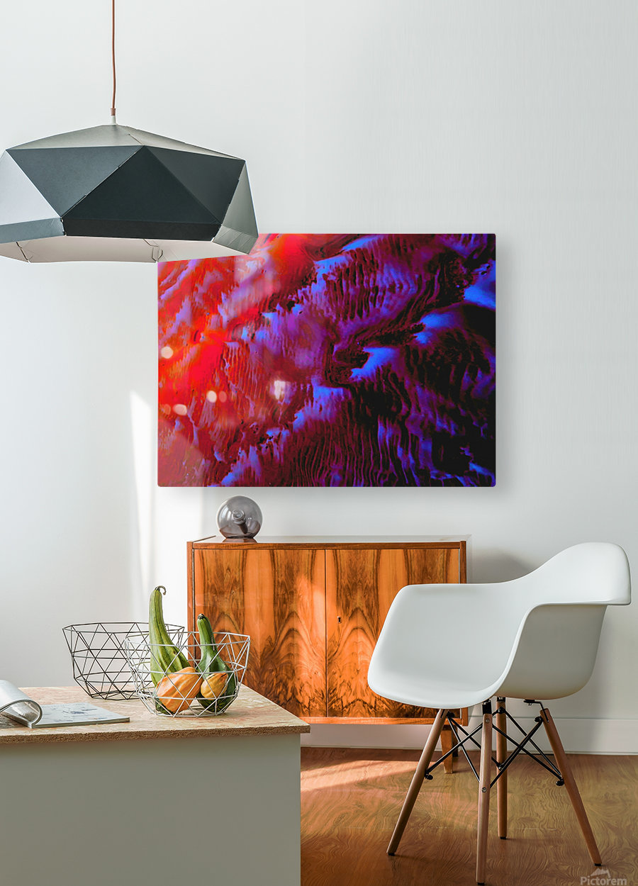 20180925_204803  HD Metal print with Floating Frame on Back